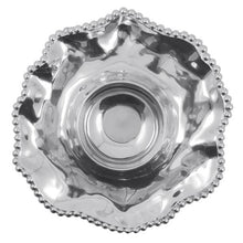 Load image into Gallery viewer, Pearled Wavy Chip & Dip | Mariposa Serving Trays and More