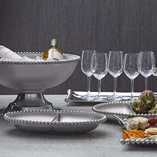 Load image into Gallery viewer, Oversized Pearled Compote-Serving Trays and More-|-Mariposa