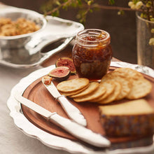 Load image into Gallery viewer, Shimmer Round Cheese Board, Dark Wood-Serving Trays and More-|-Mariposa