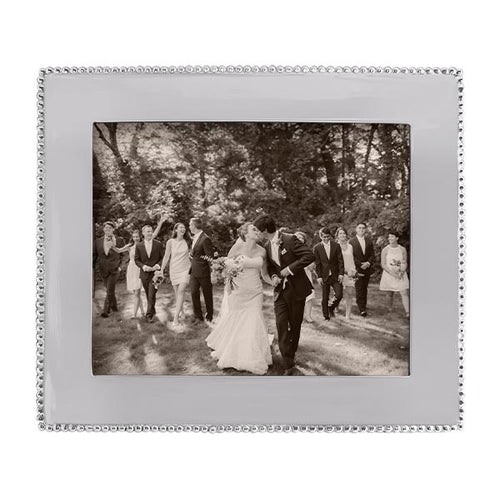 Beaded 8x10 Engravable Frame | Mariposa Photo Frames