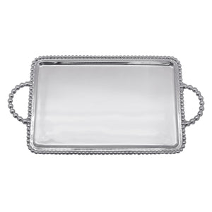 Beaded Medium Service Tray | Mariposa Serving Trays and More