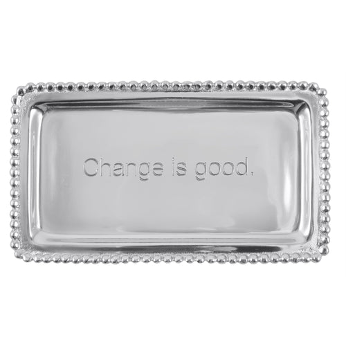 Mariposa | CHANGE IS GOOD Beaded Statement Tray