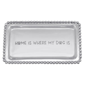 Mariposa | HOME IS WHERE MY DOG IS Beaded Statement Tray