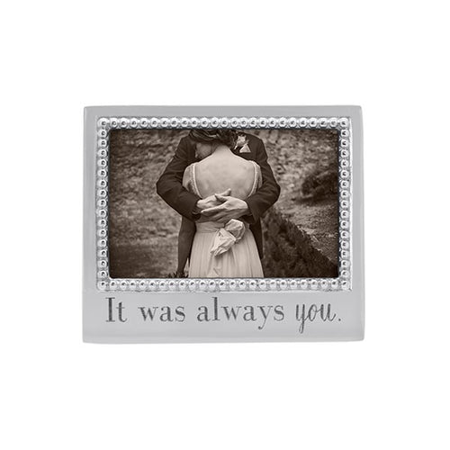 Mariposa | IT WAS ALWAYS YOU Beaded 4x6 Frame