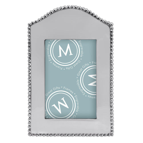 Mariposa | Beaded Arched Vertical 4x6 Frame