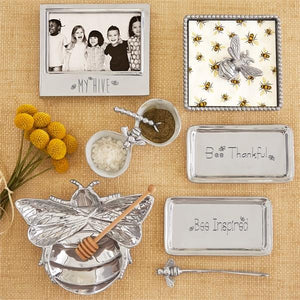 Honeybee Napkin Box-Napkin Boxes and Weights-|-Mariposa