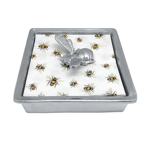 Honey Bee Napkin Box | Mariposa