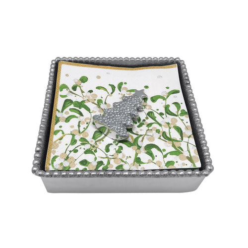 Mariposa | Dotty Tree Beaded Napkin Box