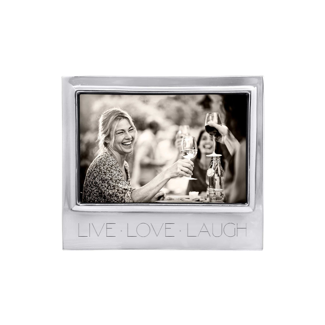LIVE LOVE LAUGH Signature 4x6 Statement Frame-Statement Frame | Mariposa