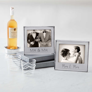 MR & MR Signature 5x7 Statement Frame-Statement Frame | Mariposa