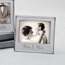 Load image into Gallery viewer, MRS & MRS Signature 5x7 Statement Frame-Statement Frame | Mariposa