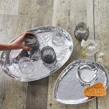 Load image into Gallery viewer, Shimmer Large Oval Tray-Trays | Mariposa
