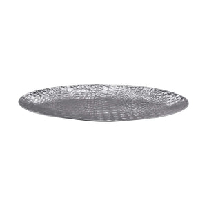 Croc Oval Centerpiece-Table Accessories-|-Mariposa
