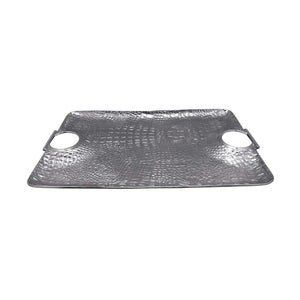 Croc Large Handle Tray-Serving Trays and More-|-Mariposa