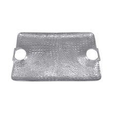 Load image into Gallery viewer, Croc Large Handle Tray | Mariposa Serving Trays and More