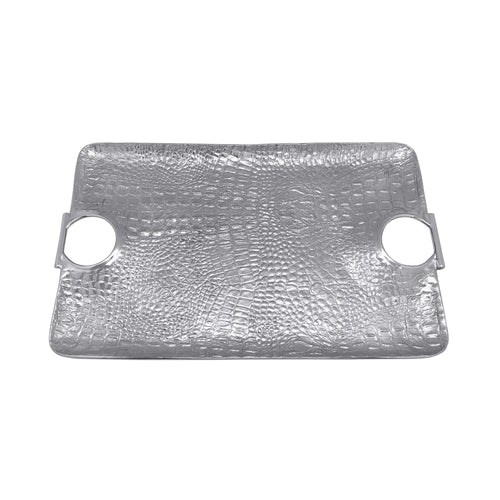 Croc Large Handle Tray | Mariposa Serving Trays and More