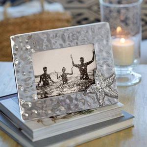 Starfish Shimmer 5x7 Frame-Photo Frames-|-Mariposa