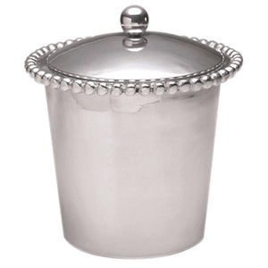 Pearled Ice Bucket | Mariposa Barware