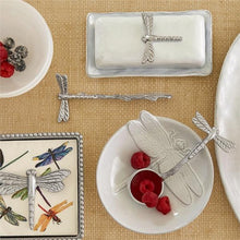 Load image into Gallery viewer, Dragonfly Beaded Napkin Box-Napkin Boxes and Weights-|-Mariposa