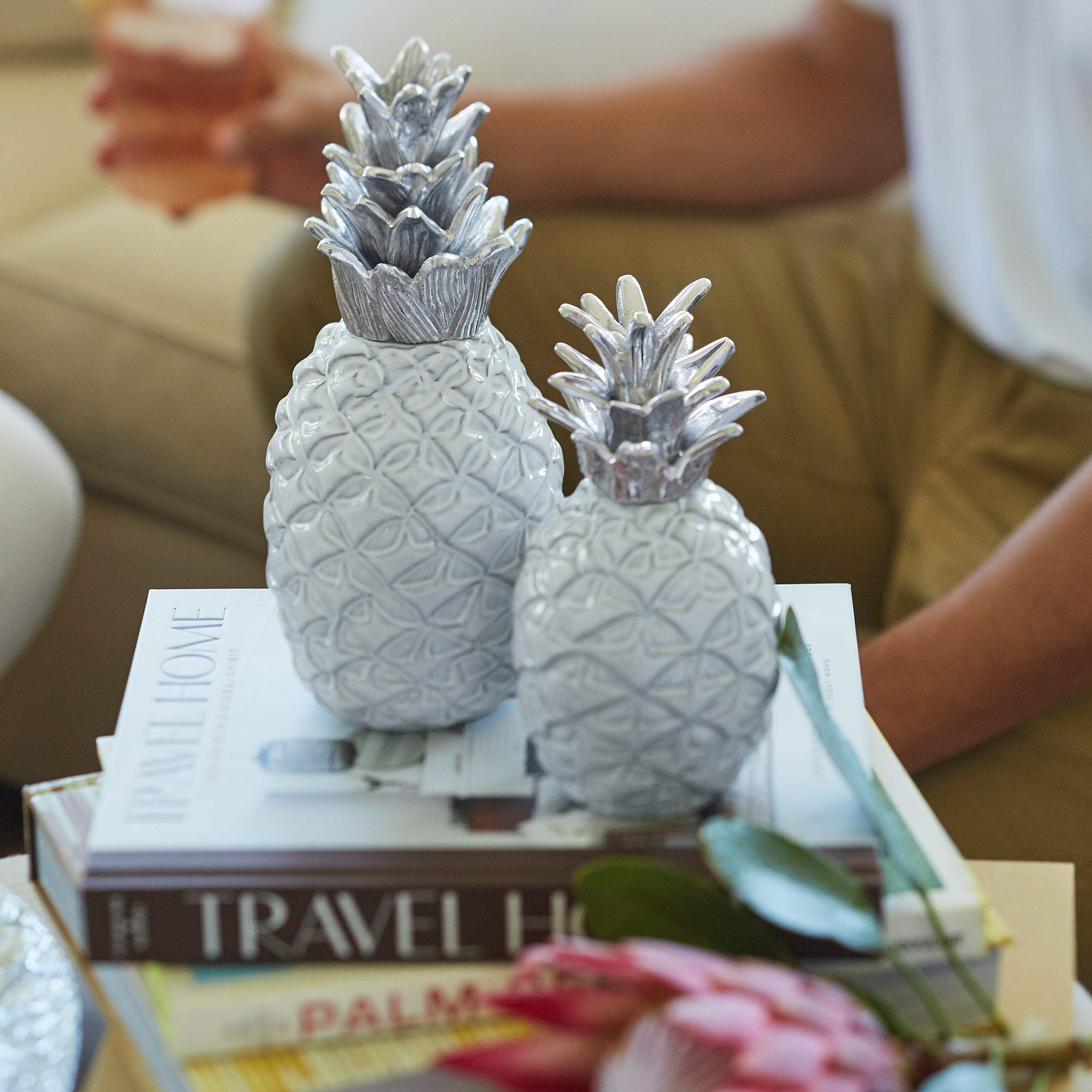 Small Ceramic Pineapple