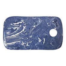 Load image into Gallery viewer, Cobalt Marble Ceramic Cheese Board | Mariposa Serving Trays and More