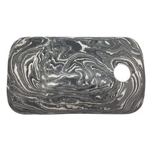 Load image into Gallery viewer, Gray Marble Ceramic Cheese Board | Mariposa Serving Trays and More