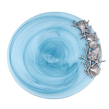 Load image into Gallery viewer, Aqua Alabaster Seaside Platter | Mariposa Platters