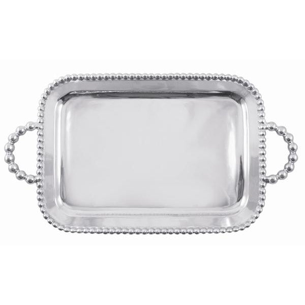 Pearled Service Tray | Mariposa Serving Trays and More