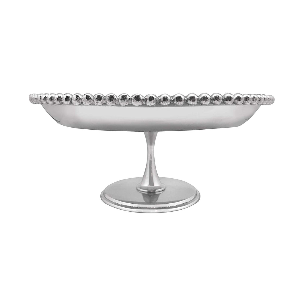 Pearled Footed Cake Stand | Mariposa Table Accessories