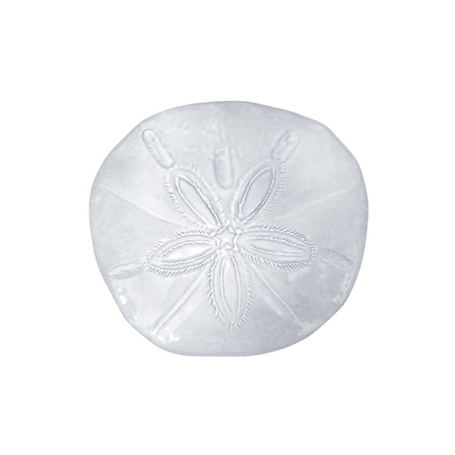 Ceramic Sand Dollar Decorative Piece | Mariposa