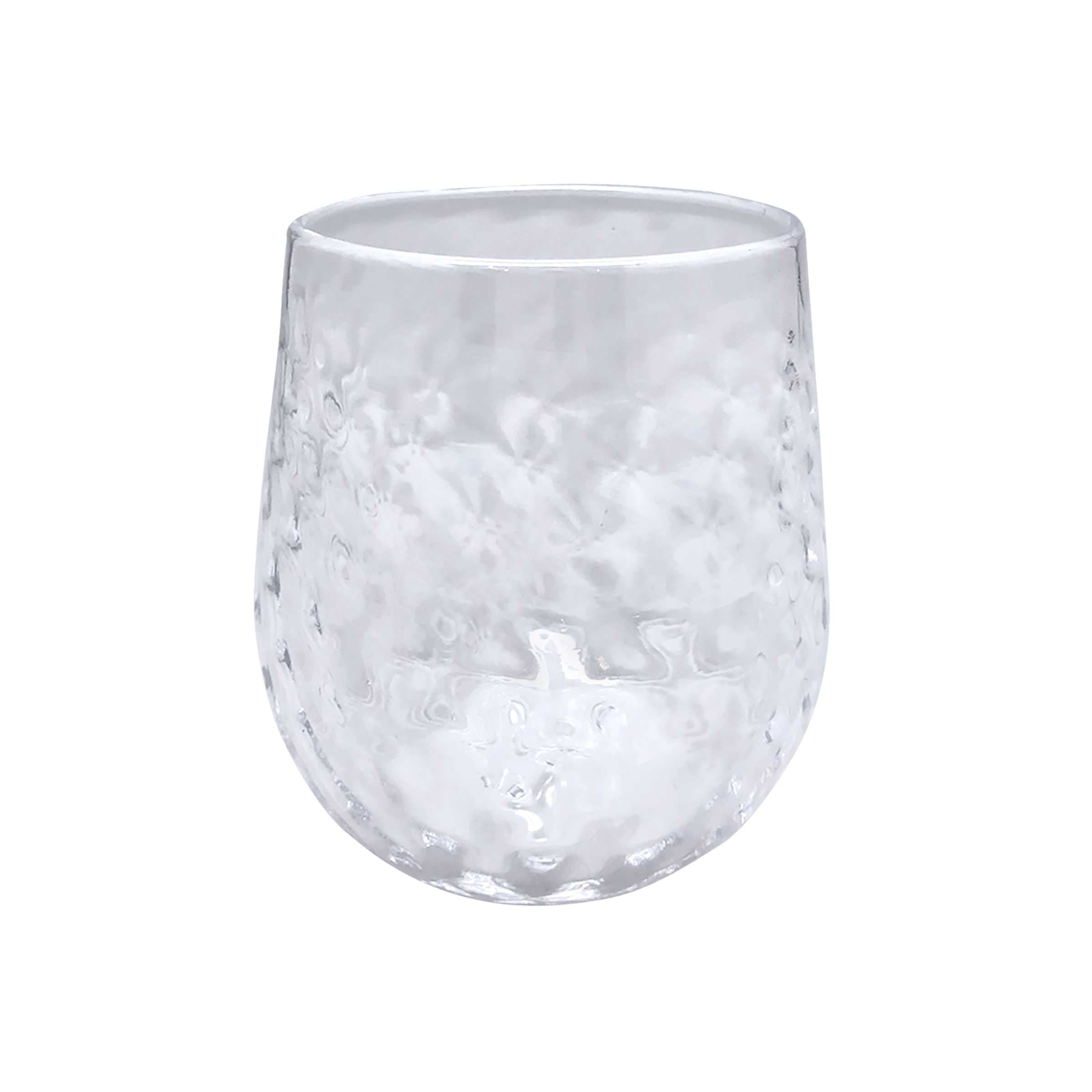 Clear Lowball Glass