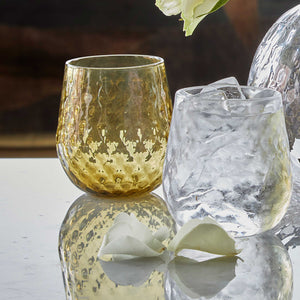 Clear Lowball Glass-Glassware | Mariposa