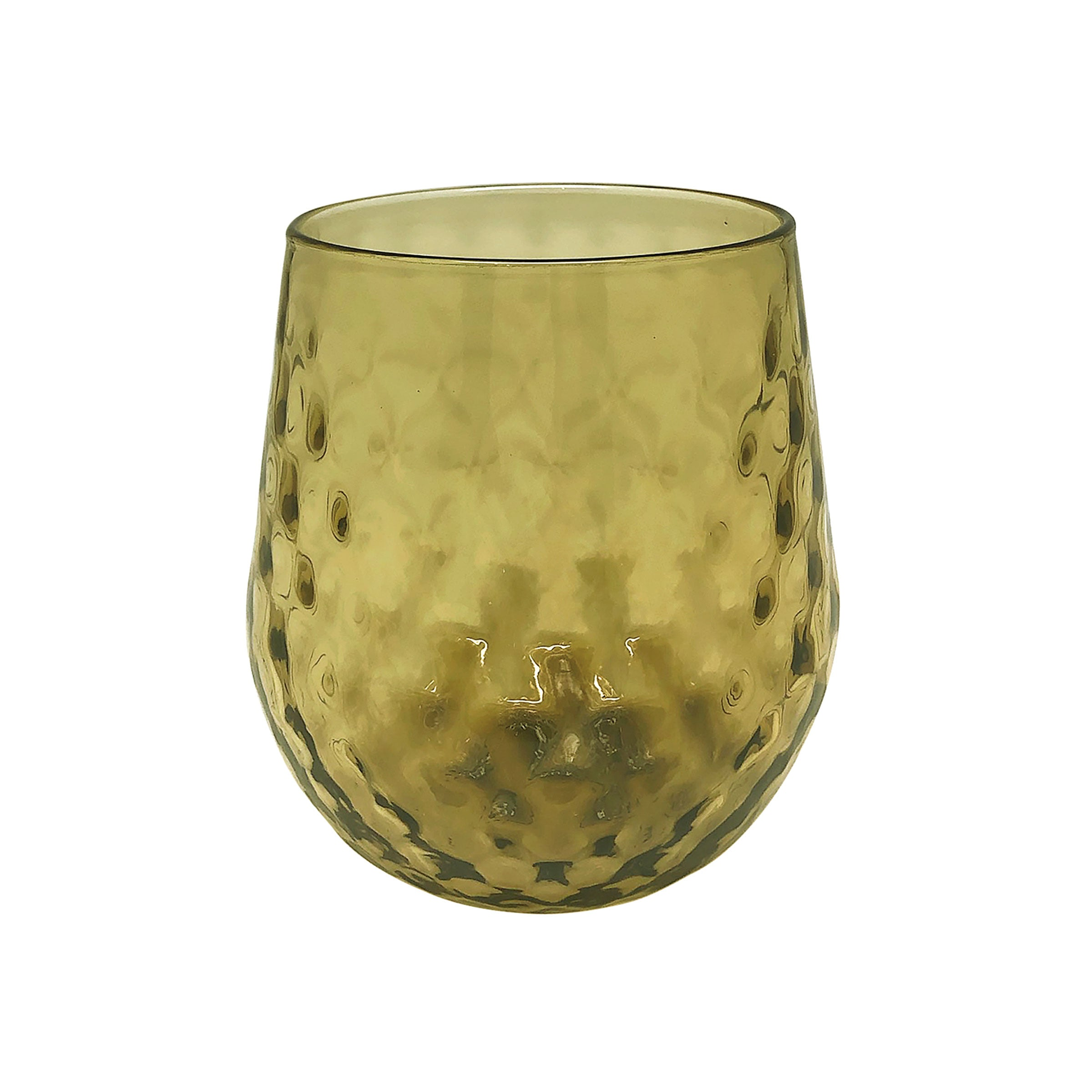 Ginger Lowball Glass