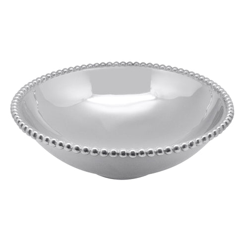 Pearled Large Serving Bowl-Bowls | Mariposa