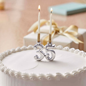 Number Candle Holder - Number-Candles | Mariposa