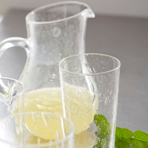 Bellini Small Glass Pitcher-Glassware | Mariposa