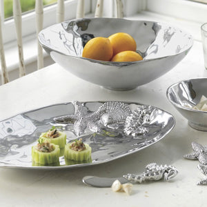 Oval Sea Server-Serving Trays and More-|-Mariposa