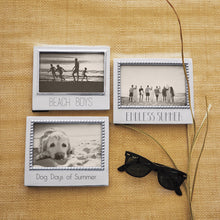 Load image into Gallery viewer, Dog Days of Summer Beaded 4x6 Statement Frame-Plain Photo Frames | Mariposa