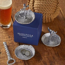 Load image into Gallery viewer, Anchor and Rope Ring Dish-Gifts and Accessories-|-Mariposa