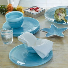 Load image into Gallery viewer, Aqua Starfish Dip Dish-Nut and Sauce Dishes-|-Mariposa