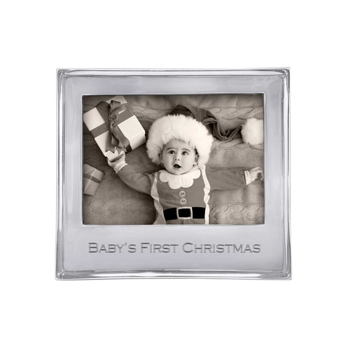 BABY'S FIRST CHRISTMAS Signature 5x7 Statement Frame-Statement Frame | Mariposa
