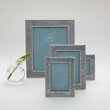 Load image into Gallery viewer, Basketweave 5x7 Frame-Photo Frames-|-Mariposa