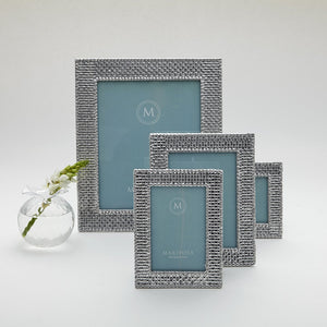Basketweave 5x7 Frame-Photo Frames-|-Mariposa