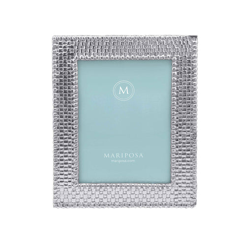 Basketweave 5x7 Frame-Photo Frames | Mariposa