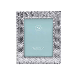 Basketweave 5x7 Frame | Mariposa Photo Frames