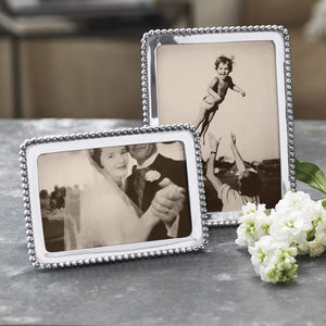 Beaded 4x6 Frame-Photo Frames-|-Mariposa