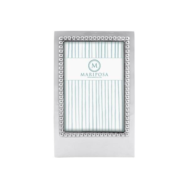 Beaded 4x6 Vertical Statement Frame | Mariposa Photo Frames