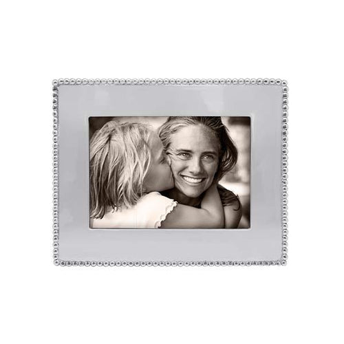 Beaded 5x7 Engravable Frame* | Mariposa Photo Frames