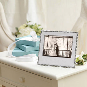 Beaded 5x7 Statement Frame-Photo Frames-|-Mariposa