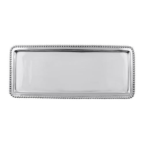 Beaded Long Tray | Mariposa Serving Trays and More